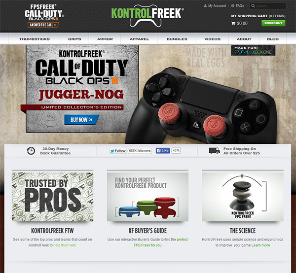 kontrol-freek-home-page